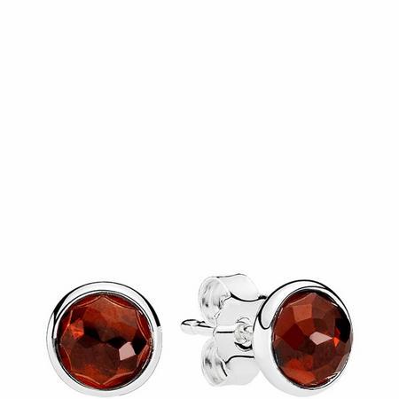 January Droplets Earrings Sterling Silver