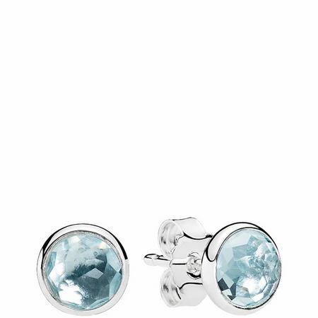 March Droplets Earrings Sterling Silver