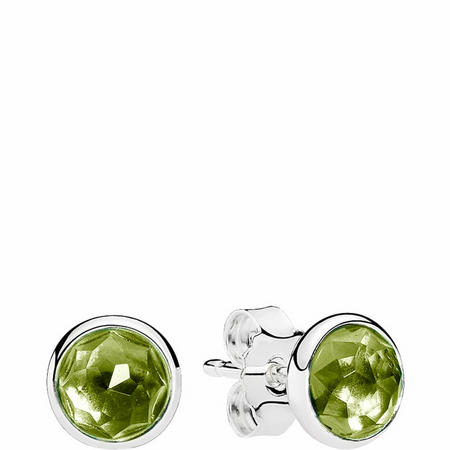 August Droplets Earrings Sterling Silver