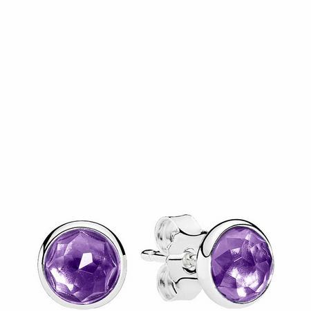 February Droplets Earrings Sterling Silver