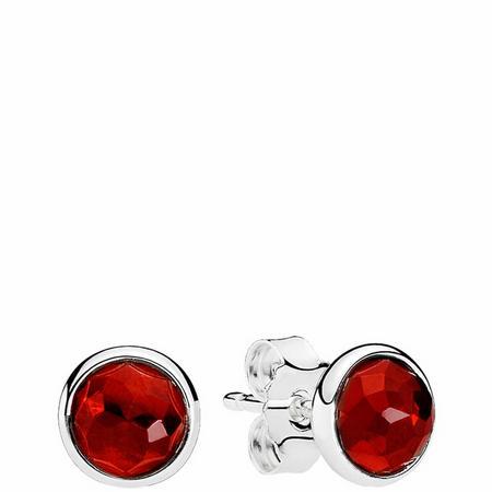 July Droplets Earrings Sterling Silver