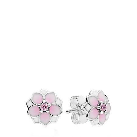 Magnolia Blooms Earrings SterlingSilver