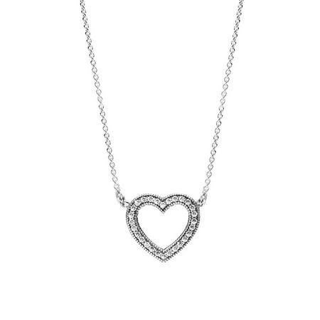 Loving Hearts of PANDORA Pendant Sterling Silver