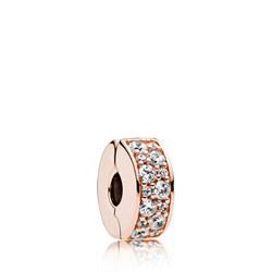 Shining Elegance Charm Pandora Rose