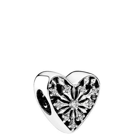 Heart Of Winter Charm Silver
