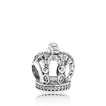 Fairytale Crown Charm SterlingSilver