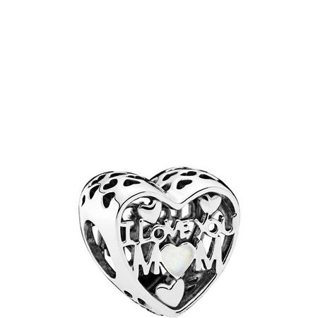 Love for Mother Charm Sterling Silver