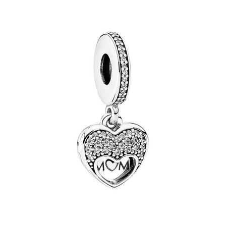 I Love My Mum Charm Sterling Silver