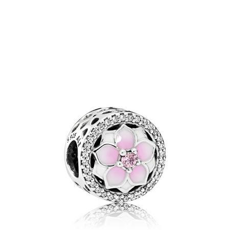 Magnolia Bloom Charm SterlingSilver