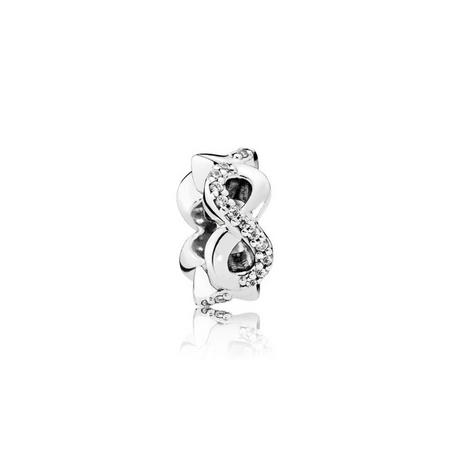 Infinite Love Charm Sterling Silver
