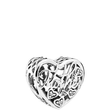 Mother & Son Bond Charm Sterling Silver