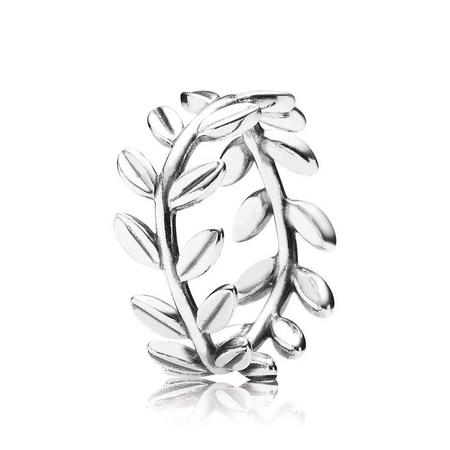 Leaves Silver Ring