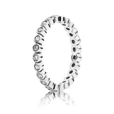 Sterling Silver Alluring Brilliant Ring