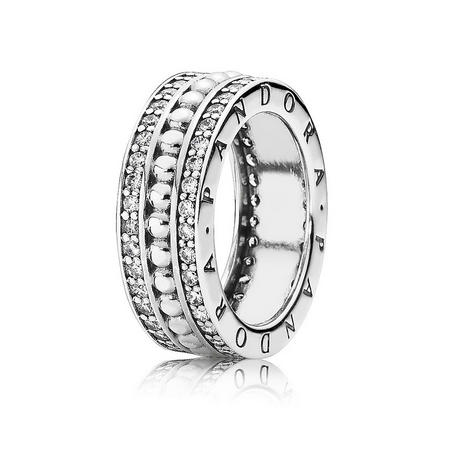 Sterling Silver Forever Pandora Ring