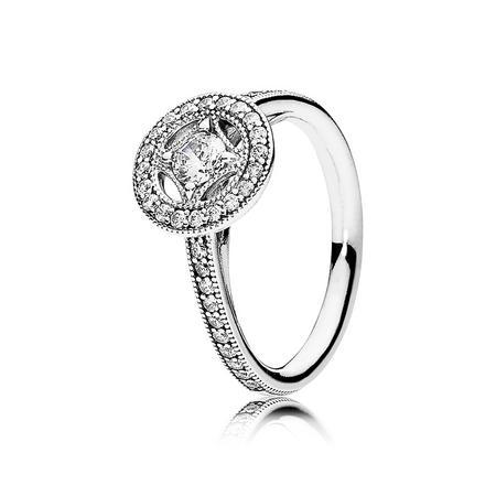 Vintage Allure Ring Silver