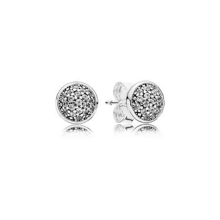 Dazzling Droplets Earrings Silver