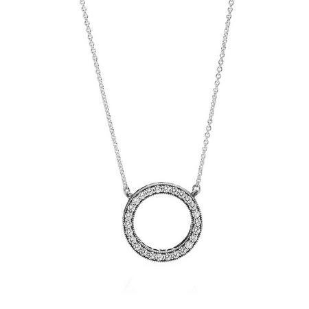 Sterling Silver Necklace Collier