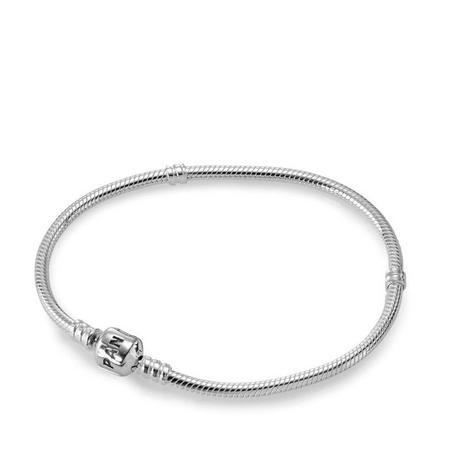 Sterling Silver 17Cm Bracelet & Clasp