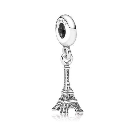 Sterling Silver Eiffel Tower Dangle Charm