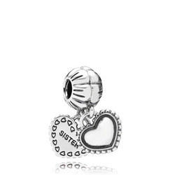 My Special Sister Silver Dangle Charm