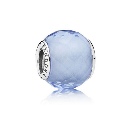 Sterling Silver Blue Petit Facets Charm