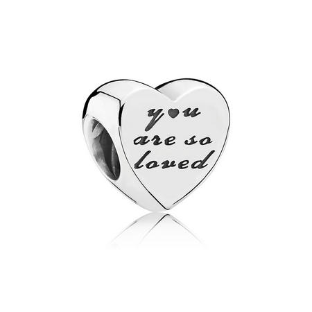 Sterling Silver You Are So Loved Charm