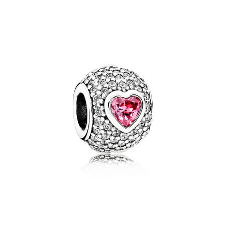 Captivating Heart Charm
