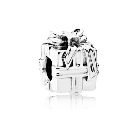 Gleaming Gift Charm Silver