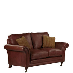 Burghley 2 Seater Leather