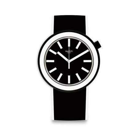 Poplooking Watch Black & White
