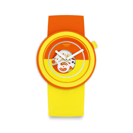 Popover Watch Yellow / Orange