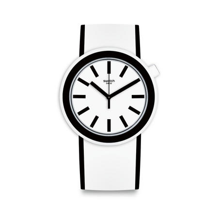 Popmoving Watch Black & White