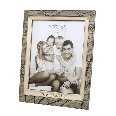 Our Family Frame 10X5""