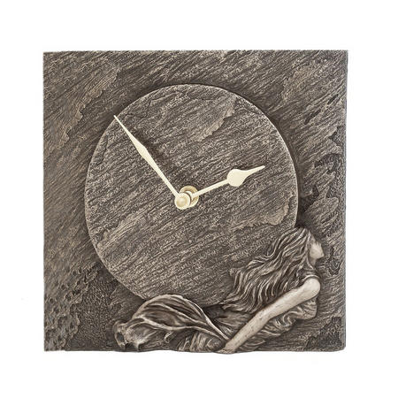 White Water Mantel Clock