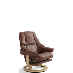 Reno Chair, Classic Leg Comfort Electric, Paloma Copper and Oak