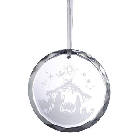 Living Nativity Scene Ornament