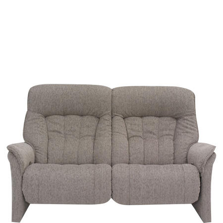 Rhine Two-Seater Fixed Sofa Aqua Almond