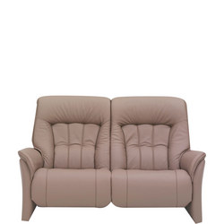 Rhine Two-Seater Sofa With Power Recliner Earth
