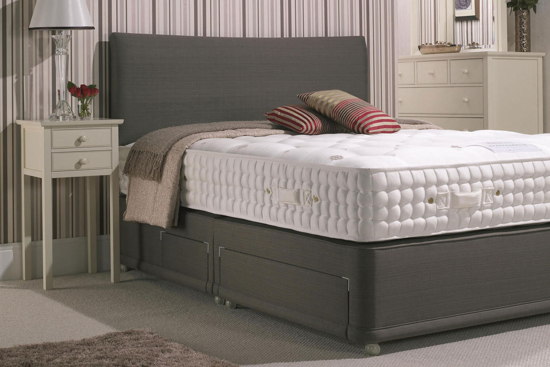 Ruby Plain Set With Soft Tension Mattress