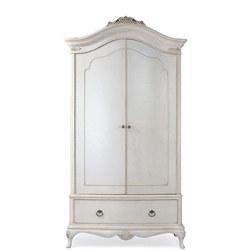 Ivory Double Wardrobe