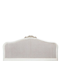 Ivory Super King Size Headboard