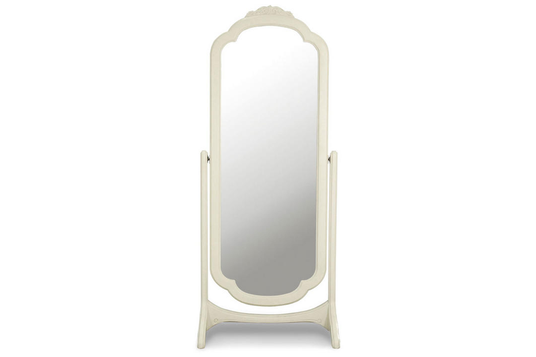 Ivory Cheval Mirror