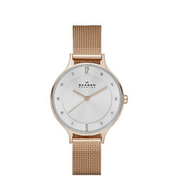 Ladies Anita Watch Gold