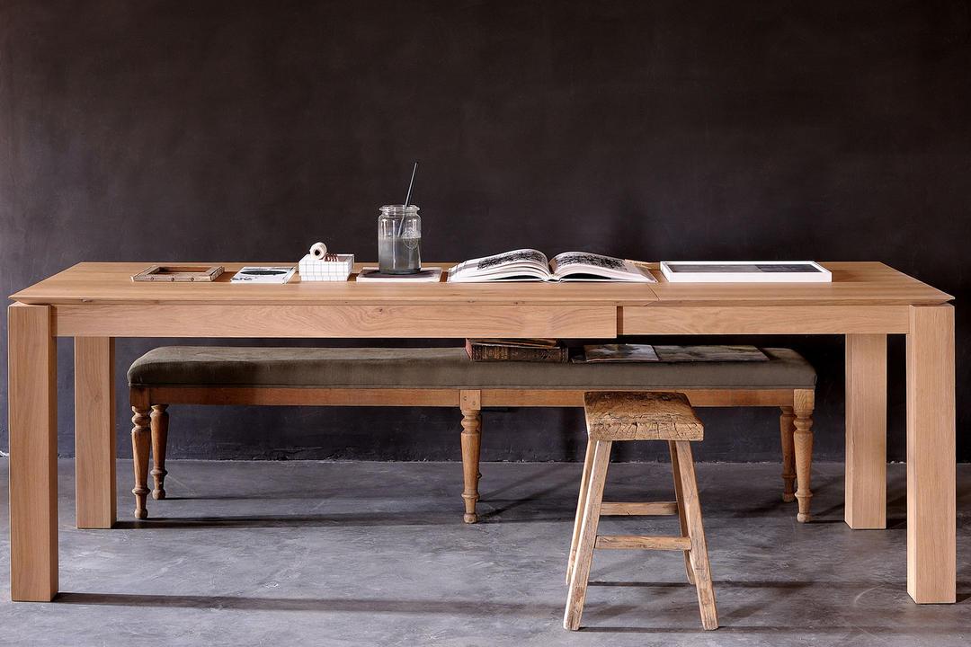 Slice Extending Dining Table Oak
