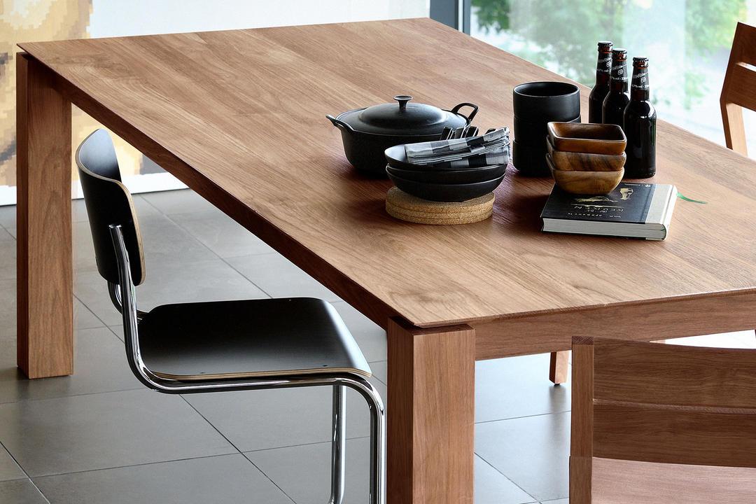 Slice Extending Dining Table Teak