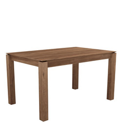 Slice Extending Dining Table Teak