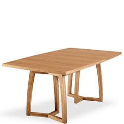 SM22 Oak Oil Veneer Dining Table