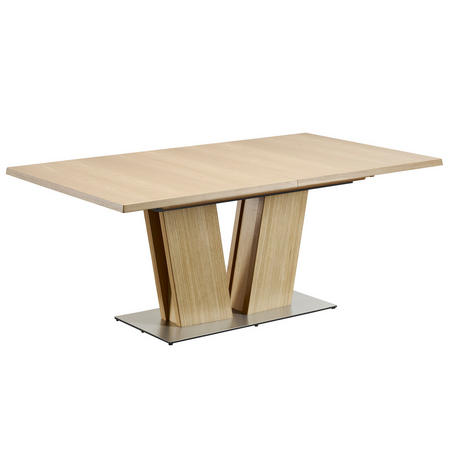 SM37 Oak Lacquer Veneer Dining Table