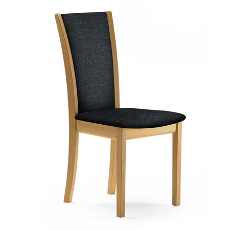 SM64 Oak Lacquer And Remix 183 Dining Chair