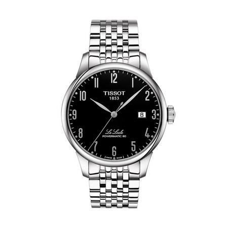 Le Locle Powermatic 80 Watch Silver/Black